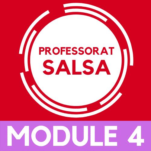 Devenir Professeur de salsa, module 4