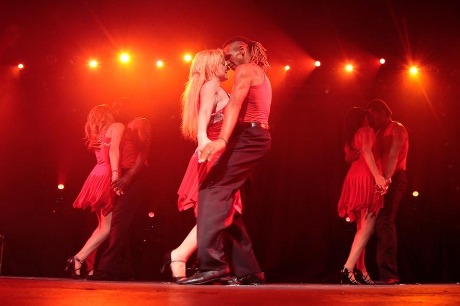 Les ateliers chorégraphiques de l'Ecole des danses latines tropicales