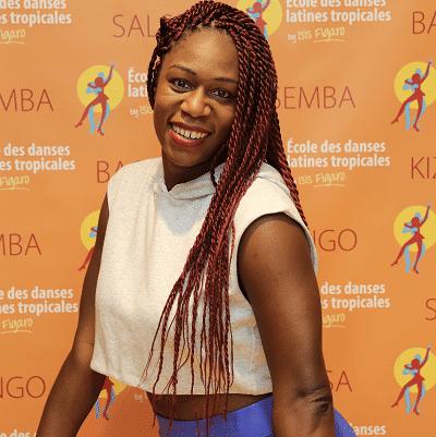 Nadia, Professeur de danse, samba brésilienne